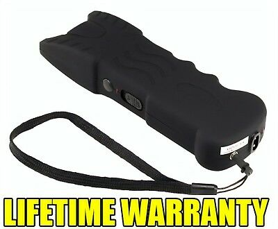 VIPERTEK BLACK VTS-979 - 23 BV Rechargeable LED Police Stun Gun with Holster