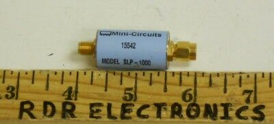 Mini-Circuits SLP-1000 DC-1000MHz Coaxial RF Low Pass Filter SMA
