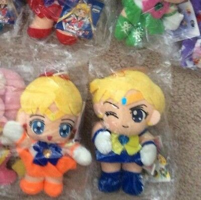 Sailor Moon Plush Doll Stuffed Toy Uranus Mars Supers Stars II UFO NEW