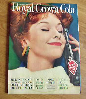 1961 RC Royal Crown Cola Ad Relax Enjoy The New-Day Cola