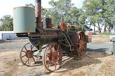 Vintage Buffalo Pitts Steam Traction Engine
