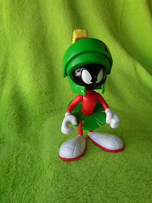 Rare 1993  Looney Tunes Talking Marvin the Martian Moveable Plastic  FIGURE