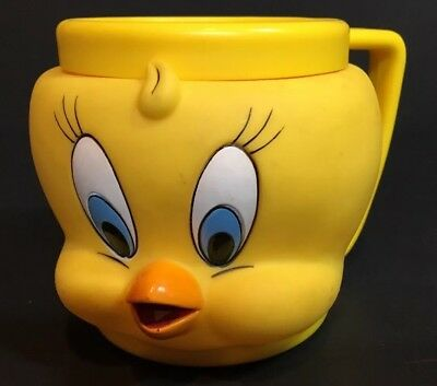Looney Tunes Tweety Bird plastic cup 1992