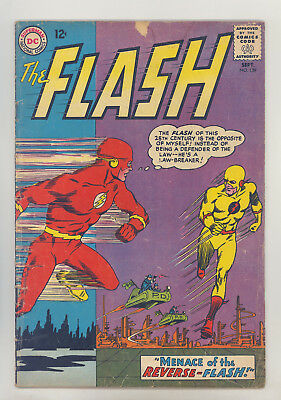 Flash #139 VG Infantino, Giella, 1st & Origin Professor Zoom (Reverse Flash)