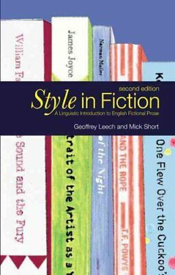 Style in Fiction A Linguistic Introduction to English Fictional... 9780582784093
