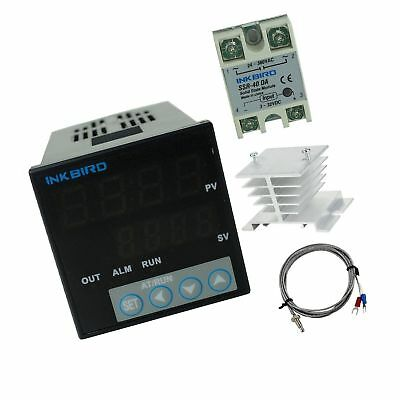 Inkbird F and C Display PID Stable Temperature Controller ITC-106VH (ITC-106V...