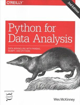 Python for Data Analysis, 2e by Wes McKinney 9781491957660 (Paperback, 2017)