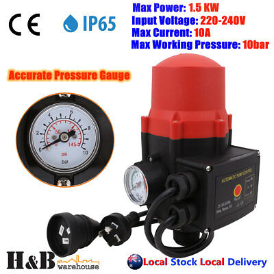 Automatic Water Pump Controller Auto Control Electronic Pressure Switch G0003