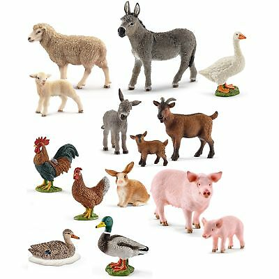 schleich tiere schwein ferkel set schweinchen bauernhof figuren mini 13782 13783 eur 10 43. Black Bedroom Furniture Sets. Home Design Ideas