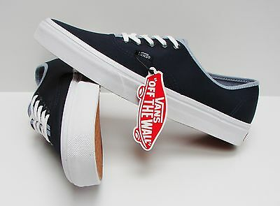 22281b8e37 VANS AUTHENTIC T C Dress Blues Captains Blue VN-0ZUKFN6 Men s Size ...