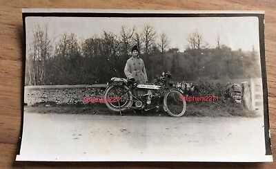 From Photo Album VINTAGE MOTORCYCLE  DOUGLAS  YEOVIL  DORCHESTER ROAD
