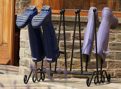 Welly Boot Rack - Wellies Holder - Wellington Boot Storage - Hold 5 Pairs