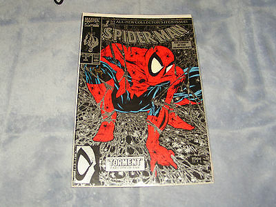 Spiderman #1 Mcfarlane Signed Black Mint