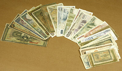 Greece 36 Different Banknotes lot#d