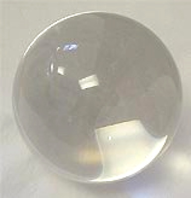 Crystal Ball 150mm, Clear Includes nice wooden stand