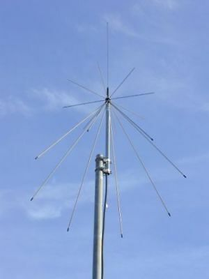 PACTEL SD-1300 Discone Scanner Base Station Antenna with10 Meters RG58coax cable