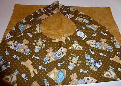 Adult Bibs/clothing protectors for adults, seniors, disabled; whimsical cats