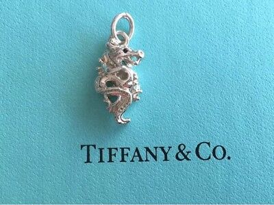 Tiffany & Co. Zodiac Dragon Sterling Silver charm by Paloma Picasso MINT In Box