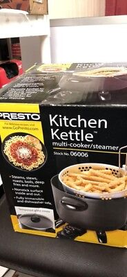 Presto Kitchen Kettle Multi Cooker Steamer