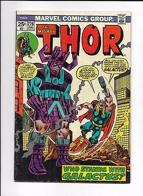 Thor #226, August 1974 MARVEL COMICS Nice Condition 2nd Appearance of Firelord!