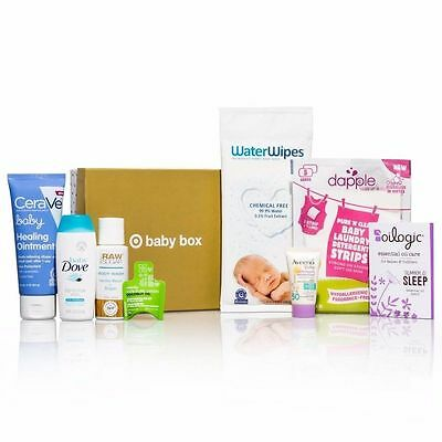 Target Baby  Box April   2017 8 pc Set