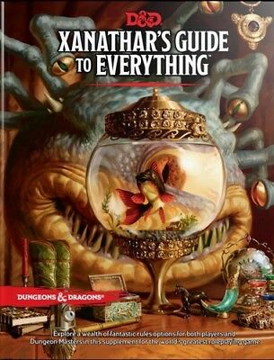 Xanathar's Guide to Everything (Dungeons & Dragons, D&D) [New Book] Hardcover,