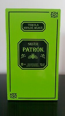 Patron Silver Tequila 700 ml In Box!