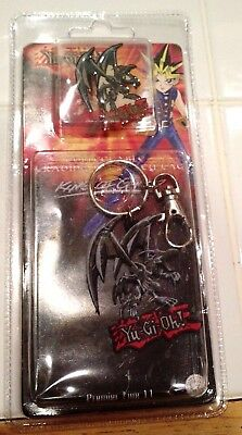 Yu-Gi-Oh! Nip Collectible Trading Pin And Key Chain 2002 (NEVER OPENED)