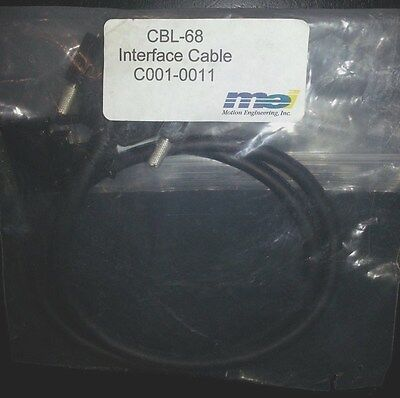 Motion Engineering Inc MEI CBI-68 Interface Cable - NEW
