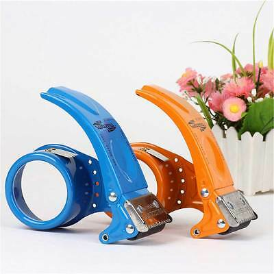 Heavy Duty Metal Packing Packaging Tape Roll Hand Dispenser Gun HOT.