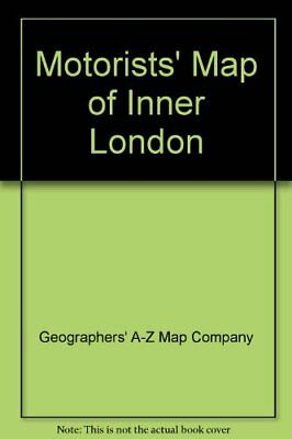 Motorists' Map of Inner London by Geographers' A-Z Map Company Sheet map, folded