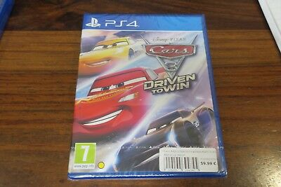 CARS 3   DRIVEN TO WIN    - pour PS4  // NEUF  - UK - ENGLISH