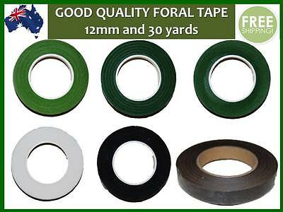 Quality Self Adhesive Florist Floral Tape, craft supply, width 12mm x 30 yards