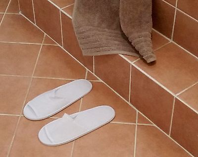 5 pairs Guest Spa Hotel Travel Hospital Slippers Unisex Disposable New Wrapped