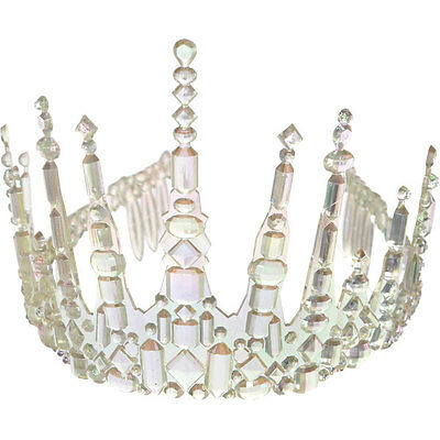 Icicle Crown Ice Queen Tiara Fancy Dress Party/Birthday
