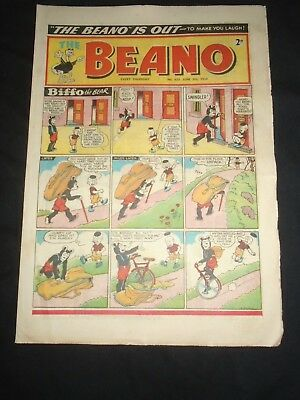 The Beano 1954 June 5th No 620 Minnie the Minx Leo Baxendale