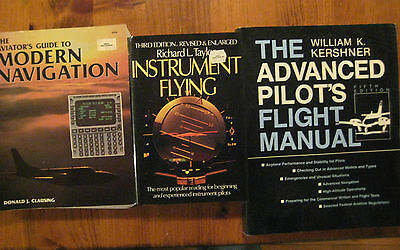 3 Advanced Pilot Training Reference Books Navigation, Ifr & Advanced Pilot
