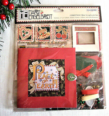 Mary Engelbreit Christmas Mini Scrapbook Album Kit, Colorbok 2005