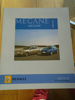 Renault Megane Sport Hatch & Hatch brochure Feb 2006