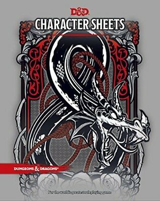 Dungeons Dragons Character Sheets 5th Edition for Use in any DD Campaign New