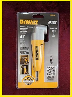 Brand New SEALED DEWALT DWARA100 Right Angle Adapter drill Attachment tool @@@@@