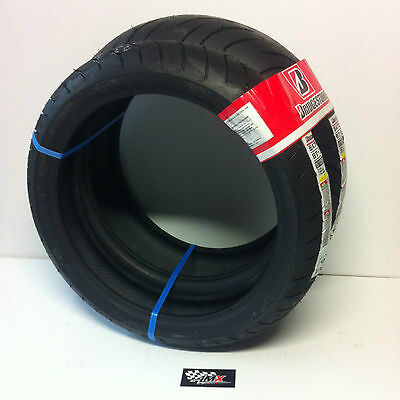 Road Tyre Package - Bridgestone BT023 front & rear tyres 120/70ZR17 & 180/55ZR17