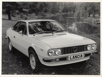 Lancia Beta Coupe Period Photograph.