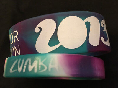 ZUMBA Fitness 2 rubber bracelets from instructor convention 2013 Orlando