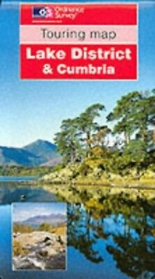 Lake District and Cumbria (Touring Maps) by Ordnance Survey Sheet map, folded