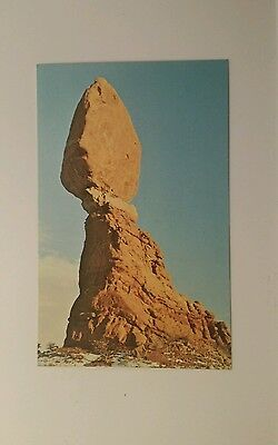 Vintage View - Balanced Rock  - Arches National Monument near Moab, Utah
