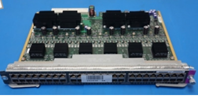 Cisco WS-X4548-GB-RJ45V PoE 48-Port MultiSpeed Gigabit Ethernet Switching Module