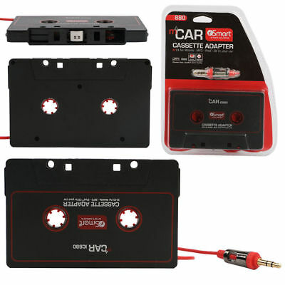 CAR-Audio Tape Cassette Adapter Deck 3.5mm for IPhone MP3 CD MD Player Jack AUX