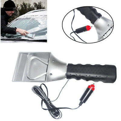 12V Car Auto Electric Heated Windshield Ice Snow Scraper Cleaning Shovel Great