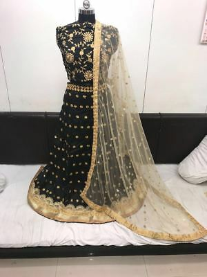 Wedding Wear Lehenga Designer Indian Latest  Bollywood Lengha Choli WBL